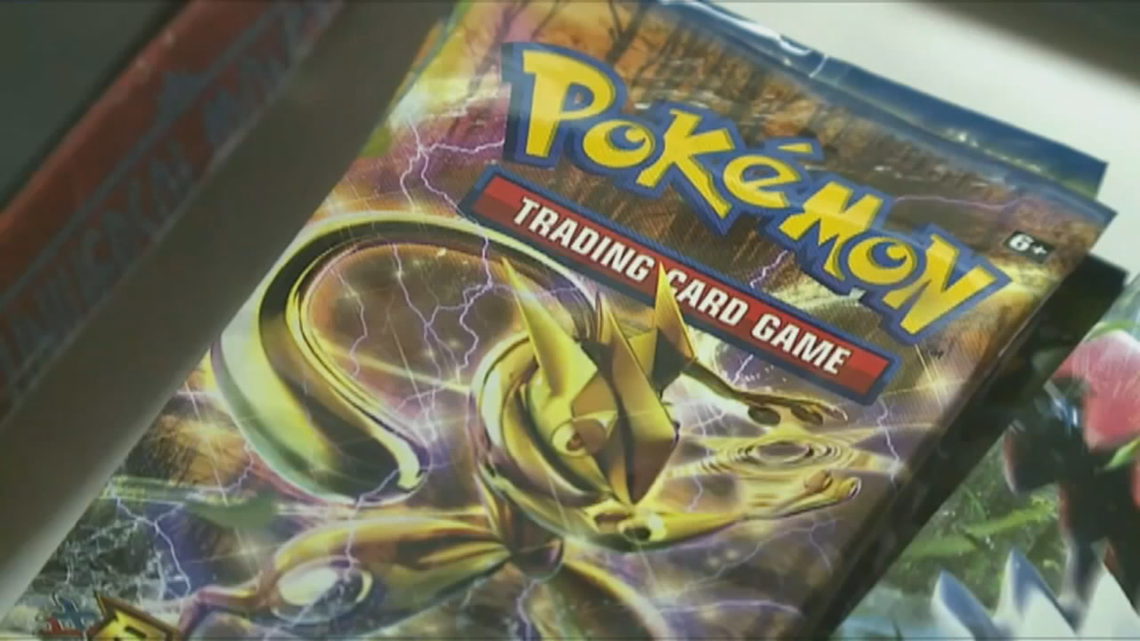 Target pulls trading cards, Pokémon cards off store shelves
