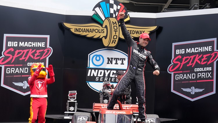 Will Power dominates for 40th win, gives Penske its 2nd win of the IndyCar season