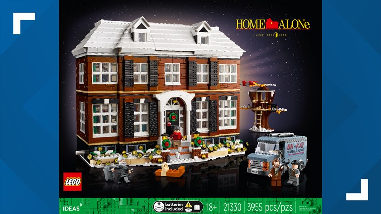 'Home Alone' Lego arrives just in time for the holiday season