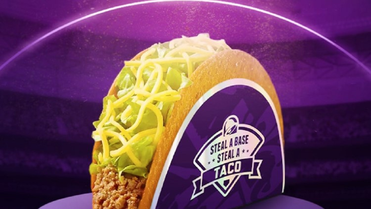 Taco Bell's stolen base promotion returns for 10th World Series
