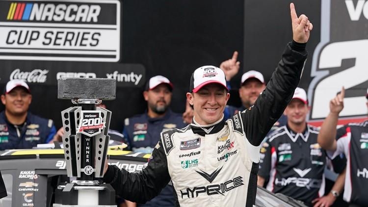 Allmendinger wins chaotic crash-filled Brickyard 200 at Indianapolis