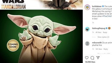 Build-A-Bear unveils Baby Yoda design; find out how you can get yours