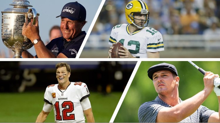 Tom Brady, Phil Mickelson will face off against Bryson DeChambeau, Aaron Rodgers in 'The Match'