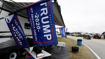 Trump's Daytona: NASCAR fans revved up for presidential visit
