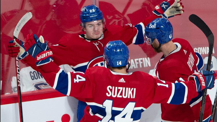 Canadiens heading to Stanley Cup Final after beating Golden Knights in OT