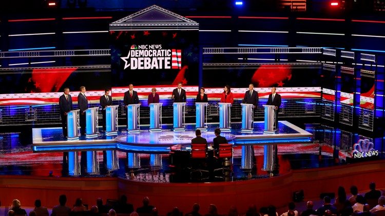 The first Democratic debate gave Bennet, Hickenlooper an opportunity to strategize