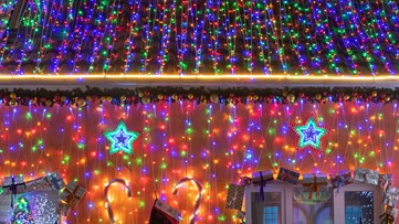 Americans spreading cheer with Christmas lights during coronavirus pandemic
