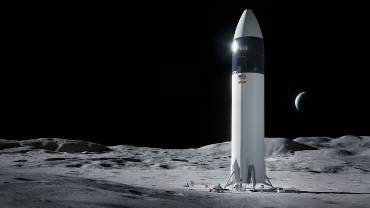 SpaceX wins $2.89 billion NASA contract to land US astronauts back on the Moon