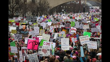 Women's marches attendance by the numbers