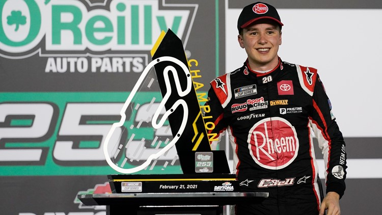Christopher Bell snags first Cup victory in surprise Daytona win