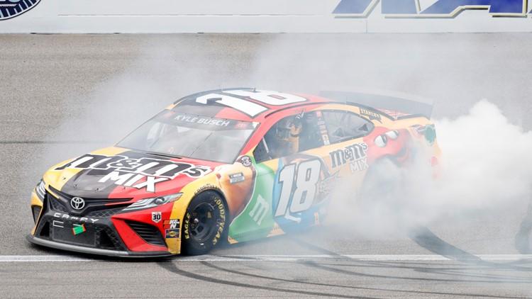 Kyle Busch wins Buschy McBusch Race 400 at Kansas