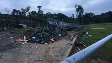Two dead after tornado rips through Louisiana Tech campus