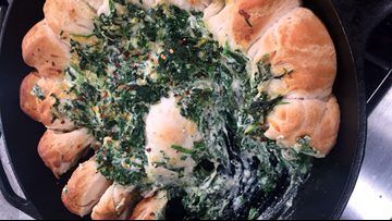 Recipe: Biscuit Spinach Cheese Ring