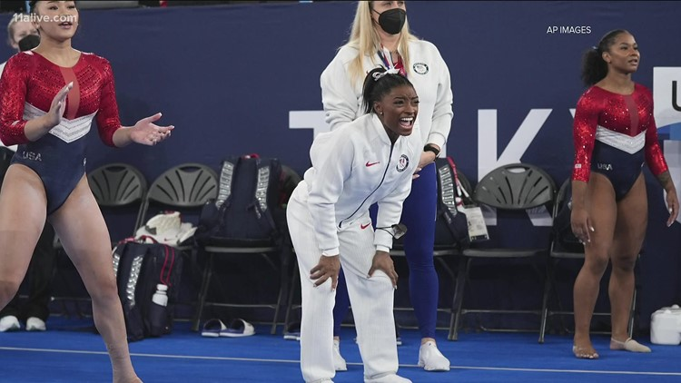Simone Biles explains why she withdrew from the team gymnastics final