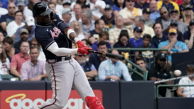 Braves outfielder Jorge Soler makes history at the World Series