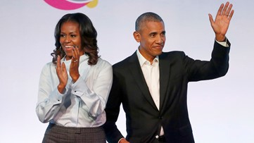 Michelle Obama is the most admired woman in the world, new poll says