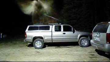 Michigan man says he captured photo of angel over his truck