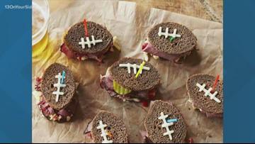 Kirk Montgomery's favorite football finger sandwiches