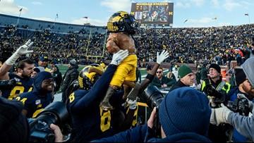 Michigan rips Michigan State 44-10